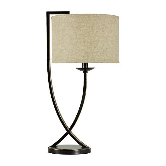 Stylecraft 14 W Madison Bronze Metal Table Lamp