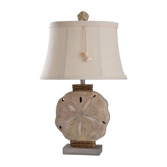 Stylecraft 18.5 W Vipitenow & Silver Polyresin Table Lamp