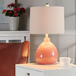 Stylecraft 12 W Raspberry Surprise Ceramic Table Lamp