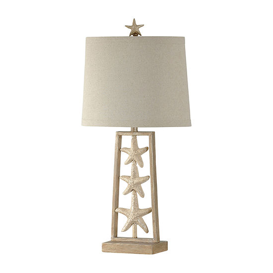 Stylecraft 16 W Sandstone Steel Table Lamp