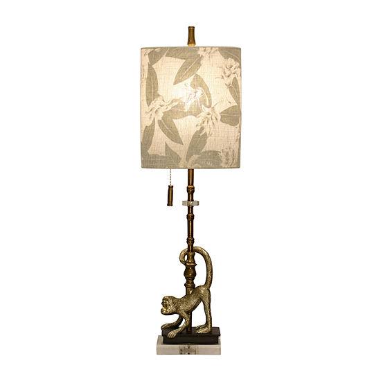 Stylecraft 10 W Gold Polyresin Table Lamp