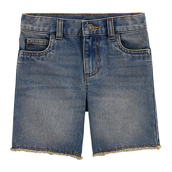 Carter's Boys Adjustable Waist Denim Short - Baby