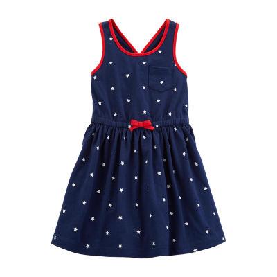 Carter's Sleeveless Star A-Line Dress - Preschool Girls