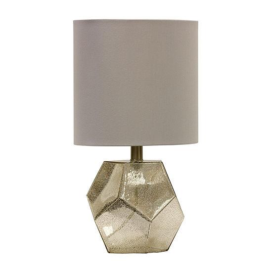 Stylecraft 10 W Mercury Glass Table Lamp