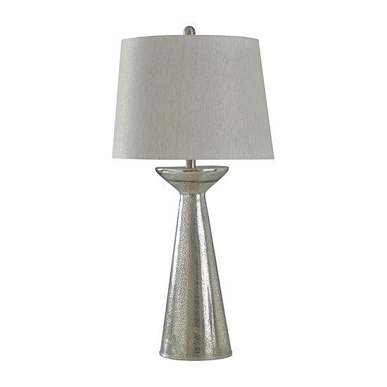 Stylecraft 16 W Mercury Glass Table Lamp