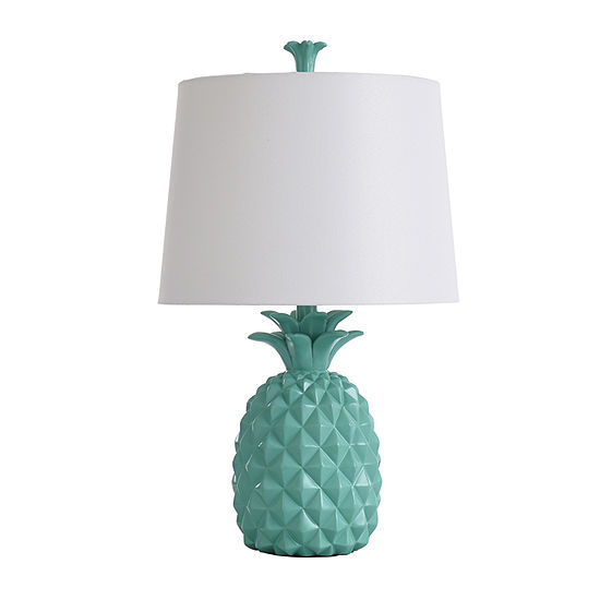 Stylecraft 7 W Green Polyresin Table Lamp
