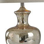 Stylecraft 14 W Silver Mercury Glass Table Lamp
