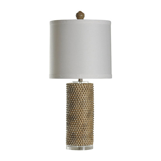 Stylecraft 14 5 W Georgian Silver Polyresin Table Lamp