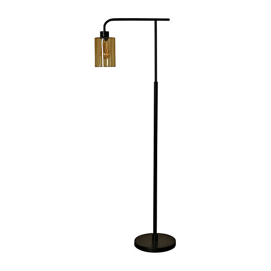 Stylecraft 5 W Restoration Bronze Metal Floor Lamp