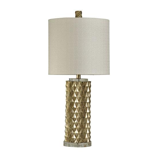 Stylecraft 14 5 W Gold Polyresin Table Lamp