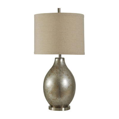 Stylecraft 18 W Mercury Glass Table Lamp