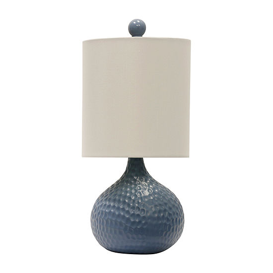 Stylecraft 7 5 W Blue Ceramic Table Lamp