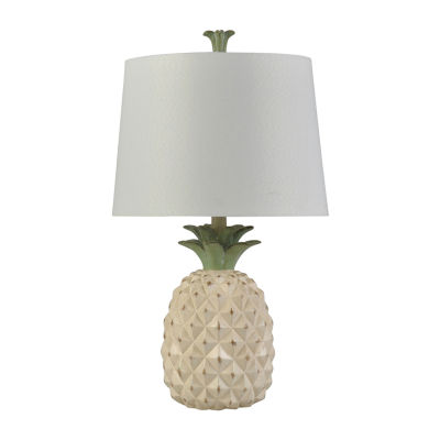Stylecraft 14 W Dole Cream Polyresin Table Lamp