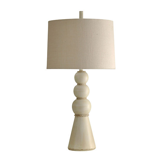 Stylecraft 17.5 W Beaufort Polyresin Table Lamp