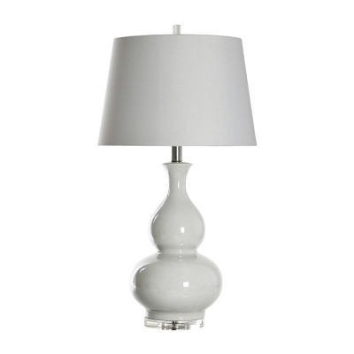 Stylecraft 18 W Cream Ceramic Table Lamp
