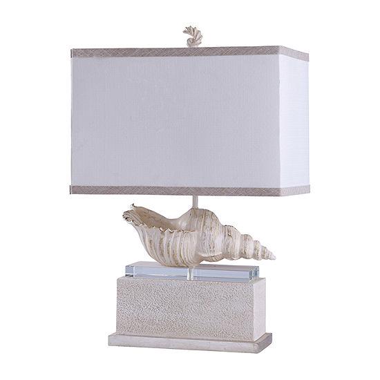 Stylecraft 19 W Kelletia Polyresin Table Lamp