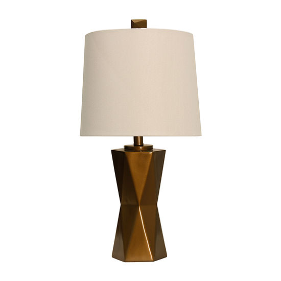 Stylecraft 12.5 W Copper Polyresin Table Lamp