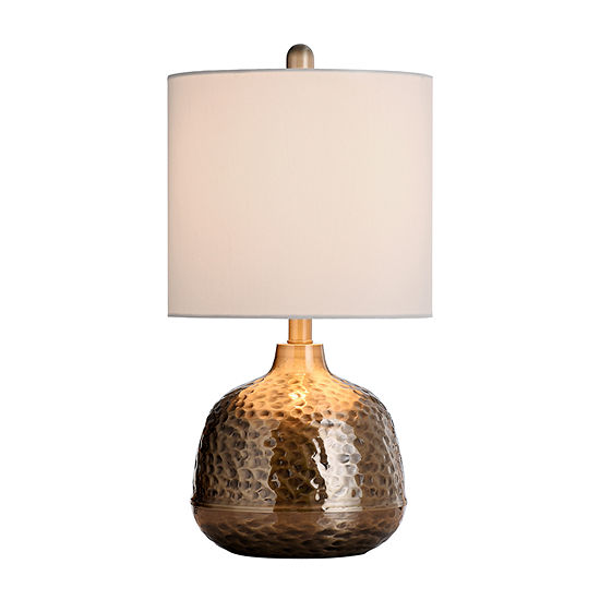 Stylecraft 11 W Gold Metal Table Lamp