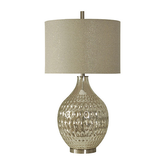 Stylecraft 19 W Mercury Glass Table Lamp
