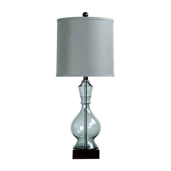 Stylecraft 12.5 W Asteria Blue Polyresin Table Lamp