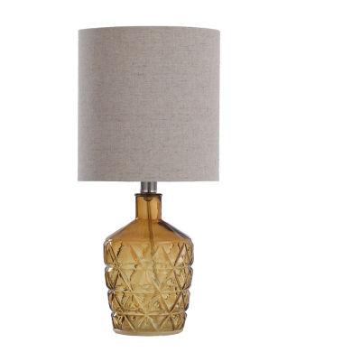 Stylecraft 8.5 W Sunset Amber Glass Table Lamp