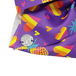 JoJo Siwa Purple Bow With Candy Print