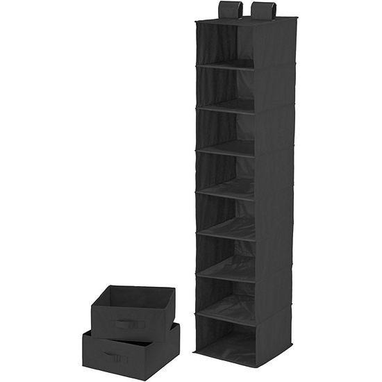 Honey-Can-Do® 8-Shelf Organizer + 2 Drawers