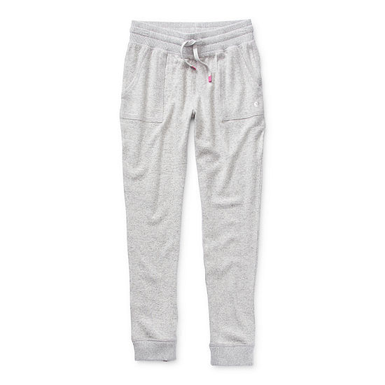 Xersion Hacci Little & Big Girls Cuffed Jogger Pant
