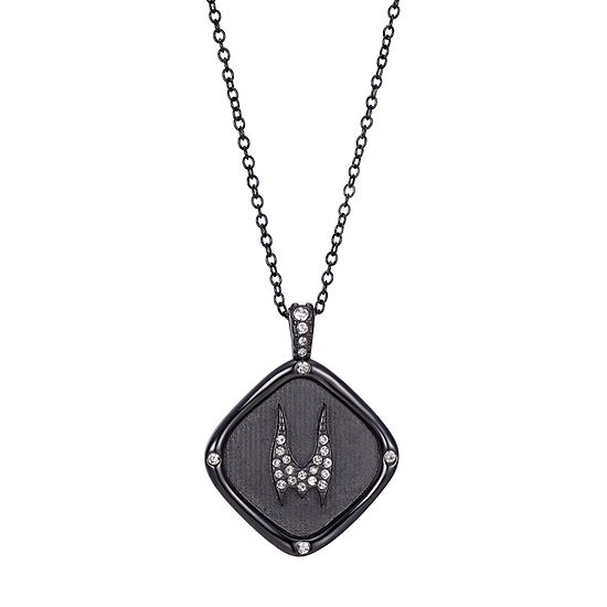 Villains Crystal 16 Inch Link Diamond Pendant Necklace