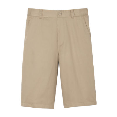 French Toast Little & Big Boys Flat Front Chino Short
