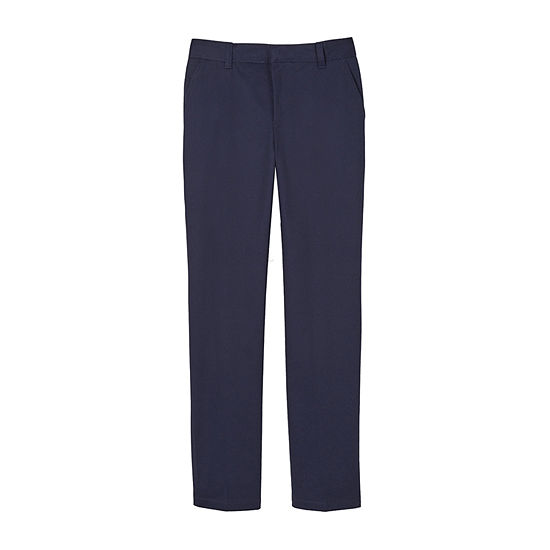 French Toast Boys Slim Flat Front Pant