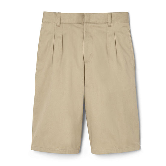 French Toast Big Boys Adjustable Waist Chino Short