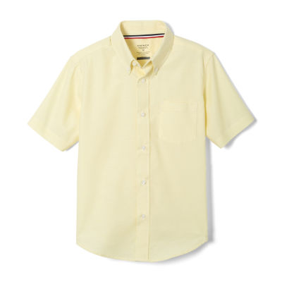 French Toast Little & Big Boys Point Collar Short Sleeve Wrinkle Resistant Dress Shirt