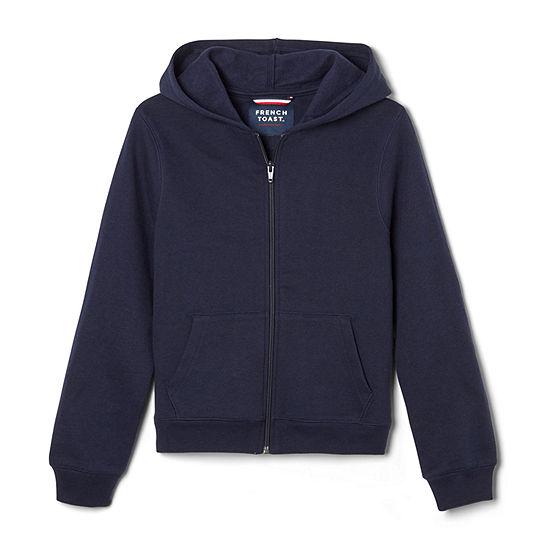 French Toast Big Boys Hooded Neck Long Sleeve Sweatshirt