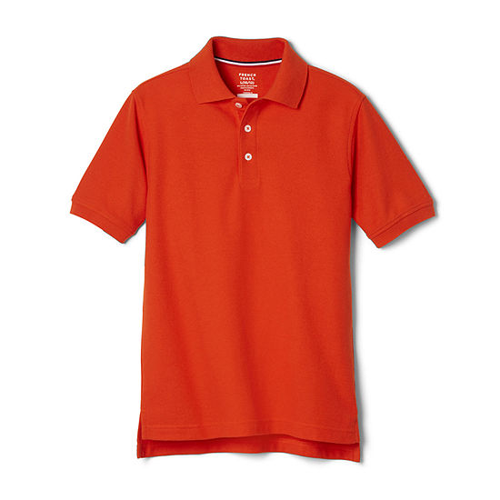 French Toast Little & Big Boys Short Sleeve Polo Shirt