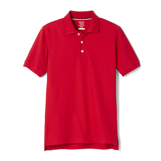 French Toast Toddler Boys Short Sleeve Polo Shirt