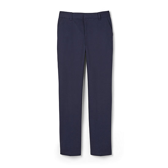French Toast Big Boys Straight Flat Front Pant