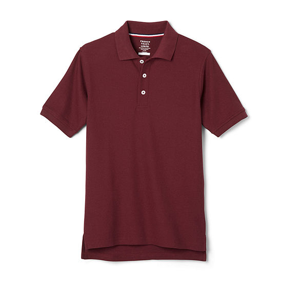 French Toast Big Boys Short Sleeve Polo Shirt