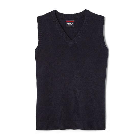 French Toast Little & Big Boys V Neck Sweater Vest