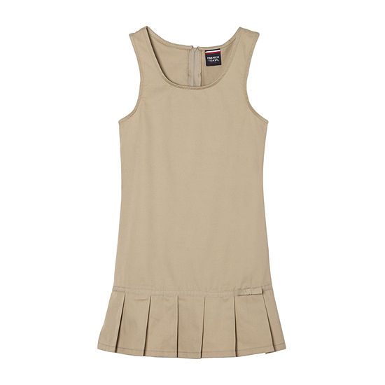 French Toast Toddler Girls Sleeveless Jumper