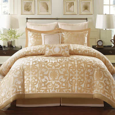 Madison Park Signature Carmichael 8-pc. Jacquard Comforter Set