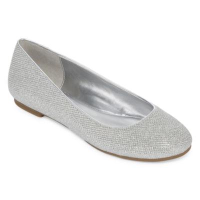 Worthington® Fifi Metallic Ballet Flats