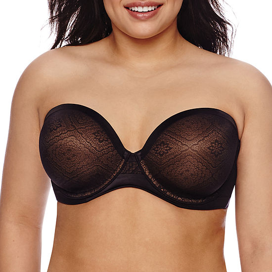 Ambrielle® Everyday Full-Figure Strapless Bra