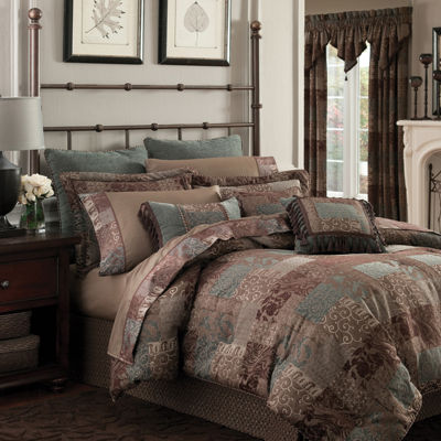 Croscill Classics® Catalina Brown 4-pc. Chenille Comforter Set