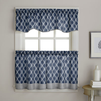 Morocco Rod-Pocket Scalloped Valance