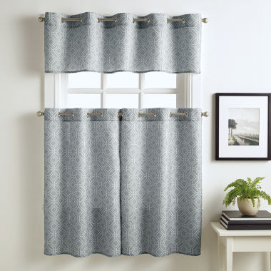 jcpenney.com | Neiva Grommet-Top Kitchen Curtains