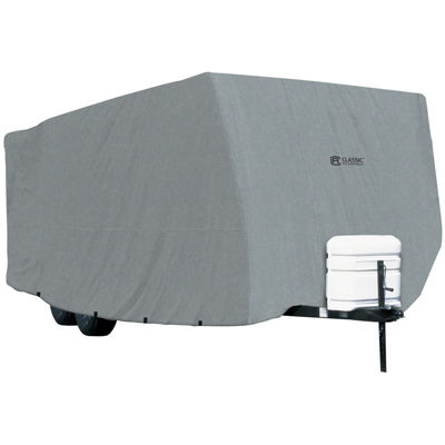 Classic Accessories 80-179-191001-00 PolyPro I Travel Trailer Cover, Model 6
