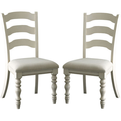 Tucker Hill Set of 2 Ladder-Back Side Chairs