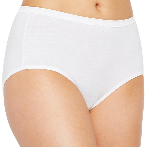 Hanes Ultimate™ Cool Comfort™ Cotton Ultra Soft 5 Pair Knit Brief Panty