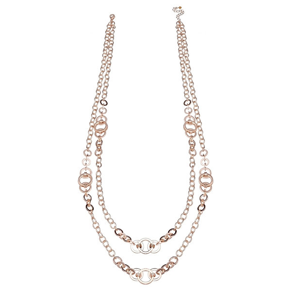 Bold Elements Womens 34 Inch Link Necklace